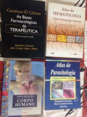 Livros para o Curso de Farmácia