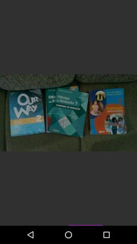 Livros usados 7 ano