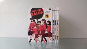 Mangá Azumanga Daioh Vol.1 ao 4