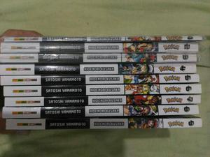 Mangá Pokemon Black & White 1 ao 9
