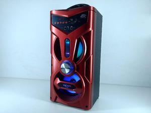 Caixa de Som Amplificada Bluetooth Portátil Bateria