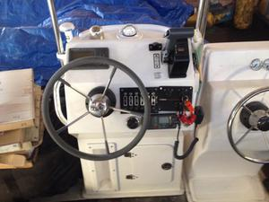 Console barco bote para motor de popa