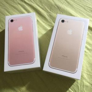 Iphone 7 gold 128gb lacrado com nota apenas  a vista ou