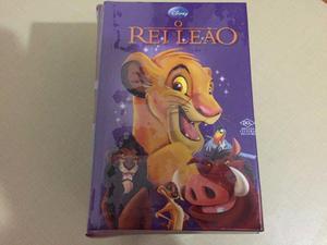 Livro O Rei Leão com Caixa Minha Primeira Biblioteca Disney
