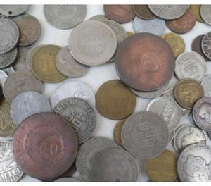 Moedas Antigas Variadas e raras R$500. lote 1