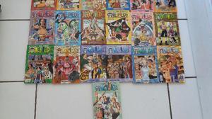 """Coleção Mangá """"One Piece"""" vol. 01 ao vol. 24 + vol. 26"""