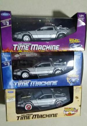Delorean Time Machine 1:24