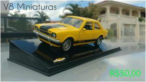 Miniatura Chevette GP Coleção Clássicos do Brasil