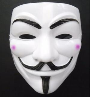 Máscara V De Vingança - Anonymous - Anônimos