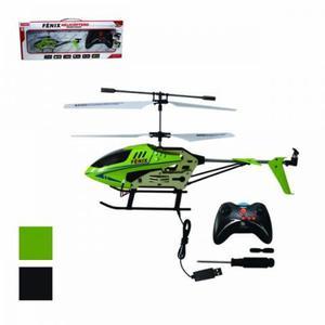 Helicóptero 27 Cm Fenix 3 Canais Art Brink Com Giroscópio