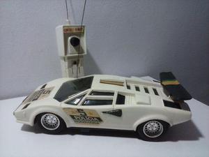 Lamborghini Branca Controle Remoto Spectro Mimo anos 80
