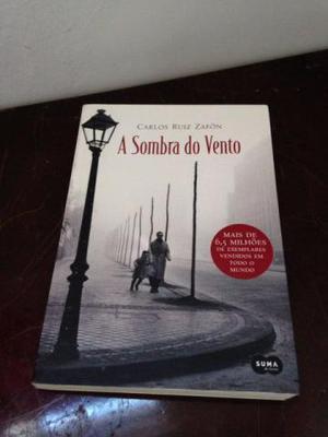 Livro - A sombra dos ventos
