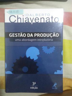 Livro Gestão da Produção - Chiavenato