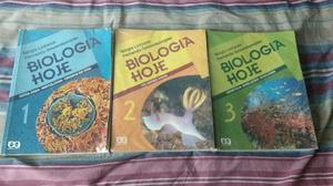Livros Biologia Hoje - Ensino Médio/Vestibular
