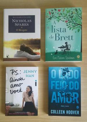 Livros diversos(novos)