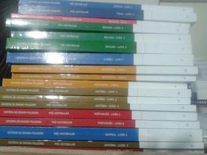 Livros pré vestibular poliedro