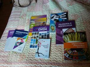 Livros preparatorios Enem e Ufrgs