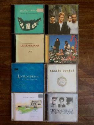Lote de CDs Legião Urbana (8 CDS Originais)