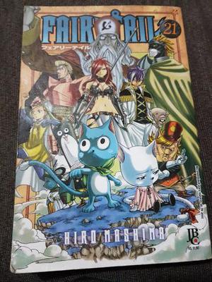 Mangá Fairy Tail Vol. 21
