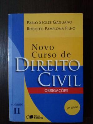 Novo Curso De Direito Civil Obrigações 11ª Edição
