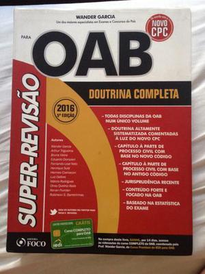 Revisão para OAB ou concursos