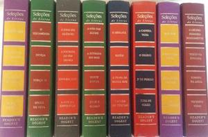 Seleções de Livros Readers Digest 3 Volumes