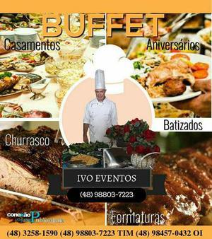 Buffet para festas eventos.a mais de 25 anos no mercado