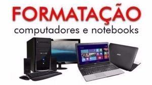 Formatação e Configuração de PC e Notebook