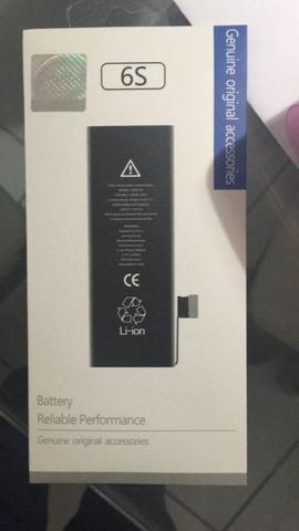 Bateria IPhone 6S Nova na caixa