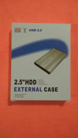 Case para hd de notebook e netbook