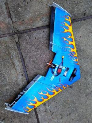 Asa zagi voadora rapida 80cm iguaçu hobby aeromodelo