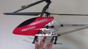 Helicóptero Candide Panther c/ Rádio Controle 3 Canais -