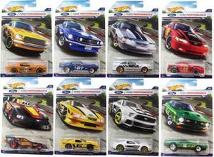 Hot Wheels Coleção Mustang Racing c/ 8 minis