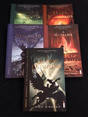 Kit Livros - Coleção Percy Jackson (5 Volumes)