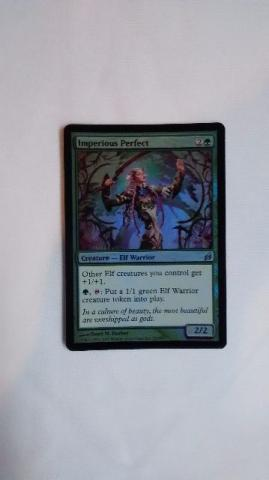Magic the Gathering Mtg Lorwin 1x Perfeita Imperiosa Foil Em