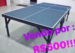 Mesa de Ping pong,Usada poucas vezes.(Acompanha 2ª raquetes
