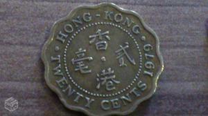 Moedas de Hong Kong, Twenty Cents e Two Dollars