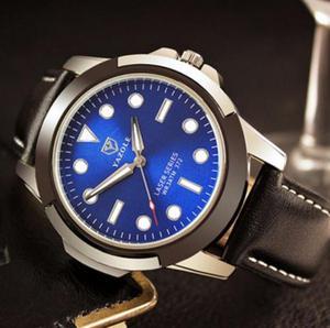 Invicta lindo fundo azul pulseira borracha   Posot Class 57ca0682d7