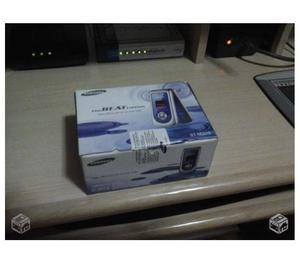 Samsung gt-m, caixa com acessórios