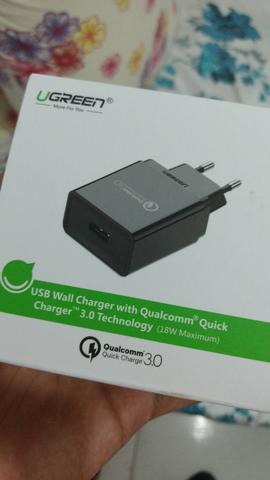 Carregador Turbo Quick charge 3.0
