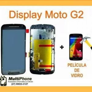 Display Completo Motorola - Moto G1 G2 G3 G4 G4 Plus