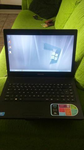 Notebook positivo intel 3d semi novo 2gb hd 320 wifi led