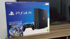 PS4 Pro Novo garant + Jogo Horizon Zero Dawn