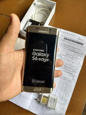Samsung Galaxy S6 Edge na caixa + NF (Pego cell+volta) e