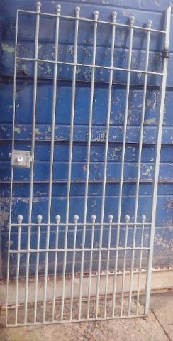 Grade ferro aluminio divisória tela portão