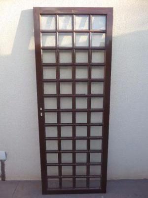 Porta de Aço com Vidros