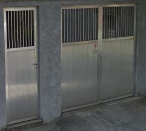 Portão de garagem e social em alumínio