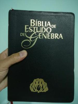 Bíblia de Estudo Genebra nova !