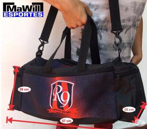 Bolsas mochilas e porta chuteiras esportivas futebol varzea