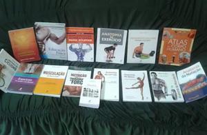 Doação livros Ed. Física